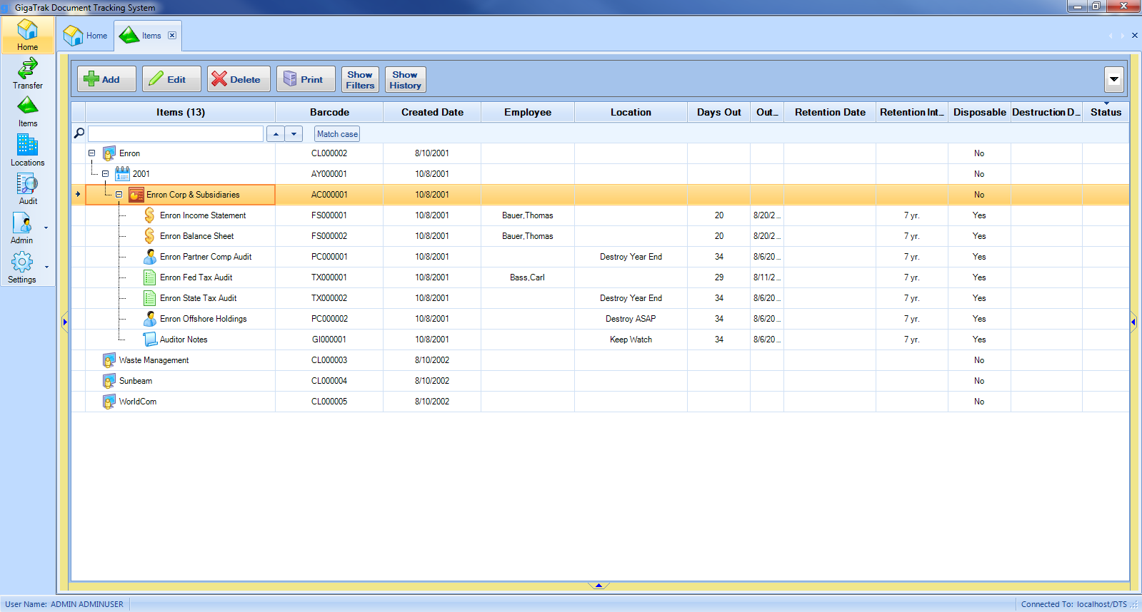 Document Tracking System Document Management Software