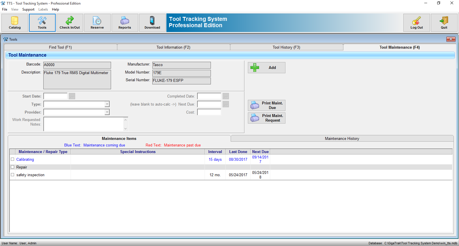 Tool Tracking System Equipment Tracking Software