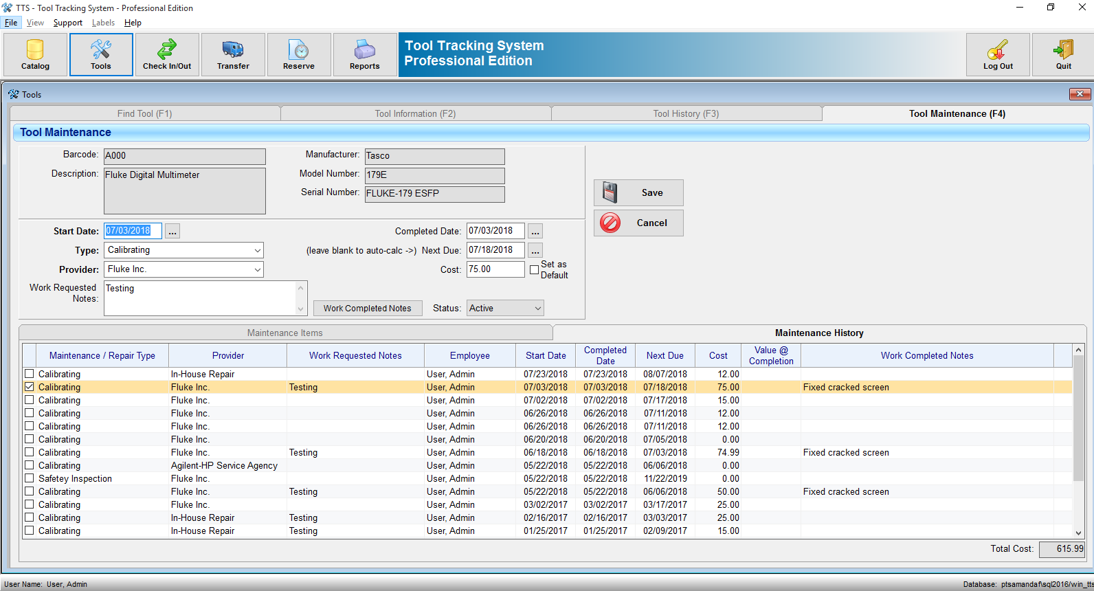 Tracking Programm