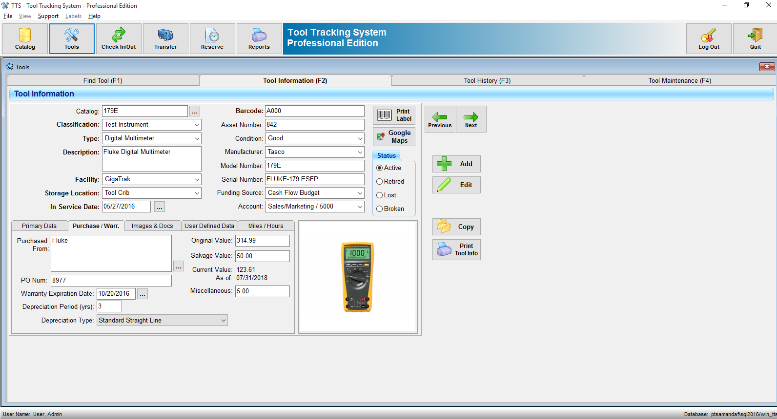 Tool Tracking System | Equipment & Asset Tracking Software