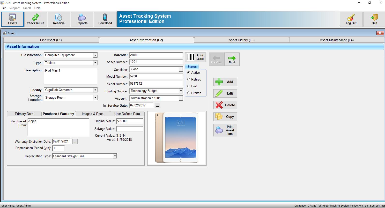 Asset Tracking System Best Asset Management Software
